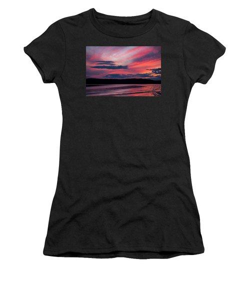 Sunset Red Lake Women's T-Shirt