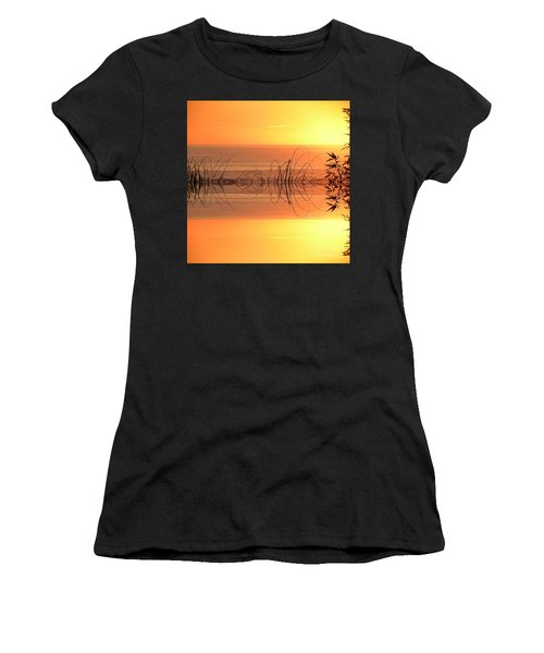 Sunset Reflection Women's T-Shirt (Athletic Fit)