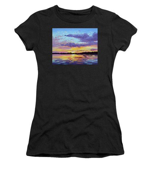 Sunset Reflections Women's T-Shirt (Athletic Fit)