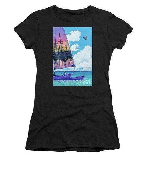 Sunset Sail Women's T-Shirt