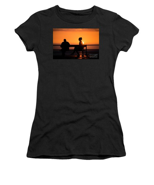 Sunset Silhouettes Women's T-Shirt