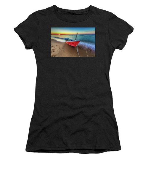 Sunset Skiff Women's T-Shirt