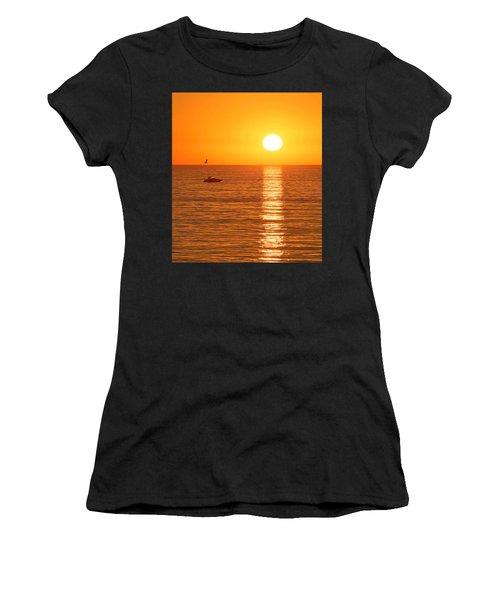 Sunset Solitude Women's T-Shirt