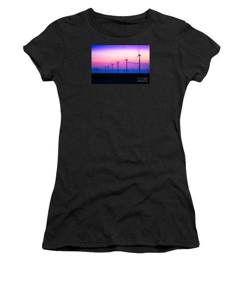 Sunset Spinning Women's T-Shirt