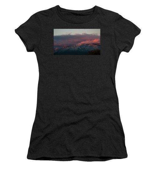 Sunset Storm On The Sangre De Cristos Women's T-Shirt (Athletic Fit)