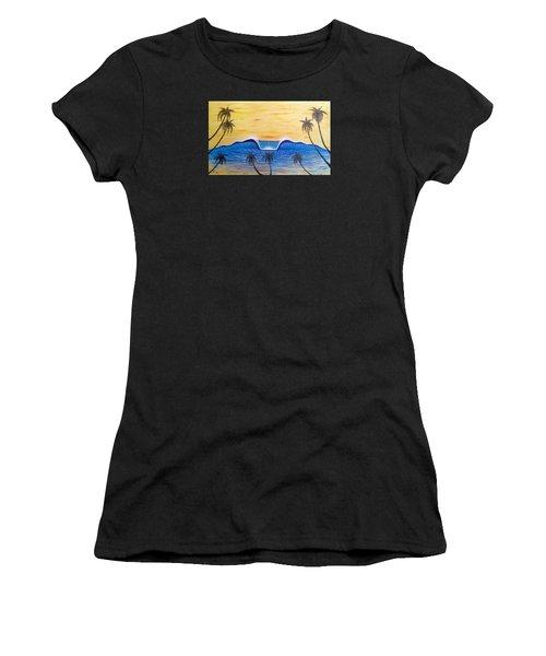 Sunset Surf Dream Women's T-Shirt