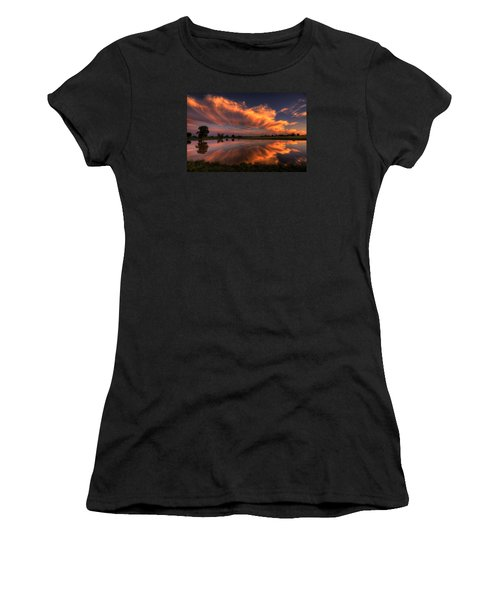 Sunset Symmetry Women's T-Shirt
