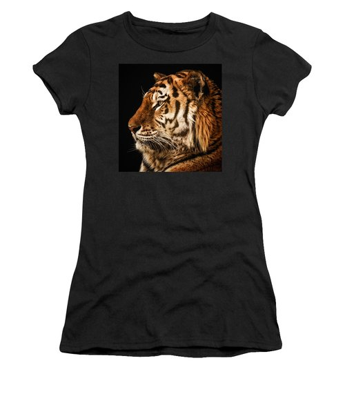 Sunset Tiger Women's T-Shirt