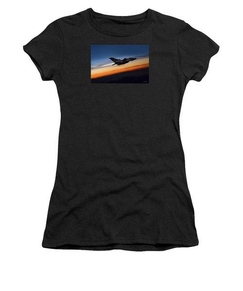 Sunset Tornado Women's T-Shirt
