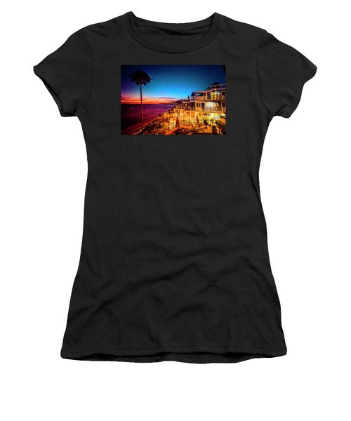 Sunset Twilight At The Laguna Riviera Women's T-Shirt (Athletic Fit)