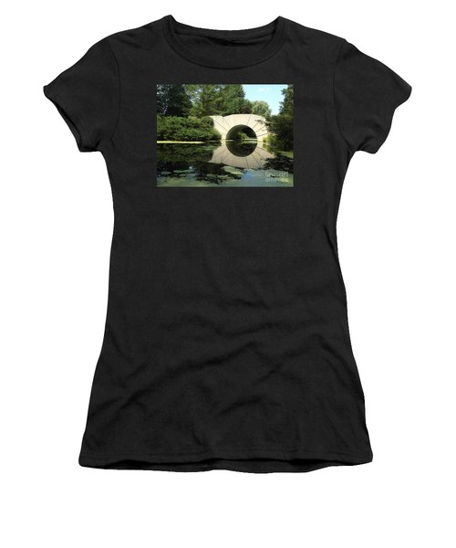 Sunshine Bridge 5 Women's T-Shirt (Junior Cut) by Erick Schmidt
