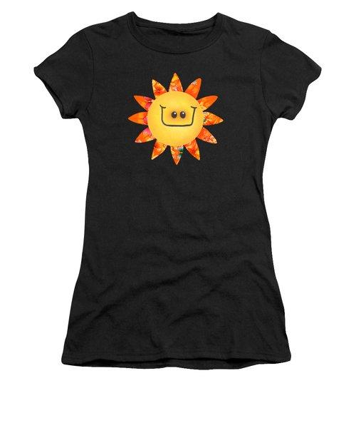 Sunshine Daisy Women's T-Shirt (Athletic Fit)