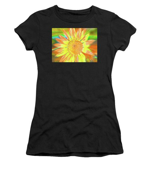 Women's T-Shirt featuring the photograph Sunsoaring by Cris Fulton