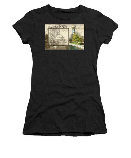 Sunsphere Mapped Women's T-Shirt