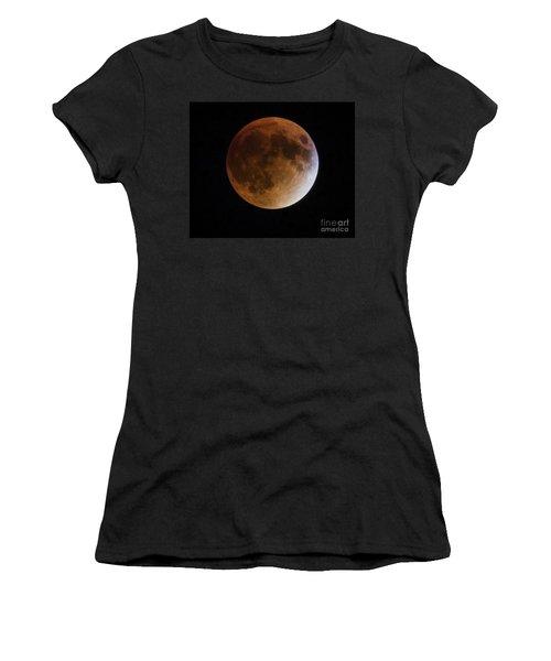 Super Blood Moon Lunar Eclipses Women's T-Shirt