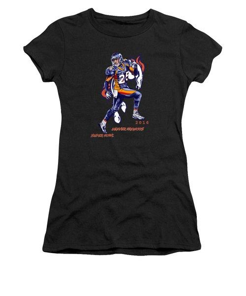 Super Bowl 2016  Women's T-Shirt (Athletic Fit)