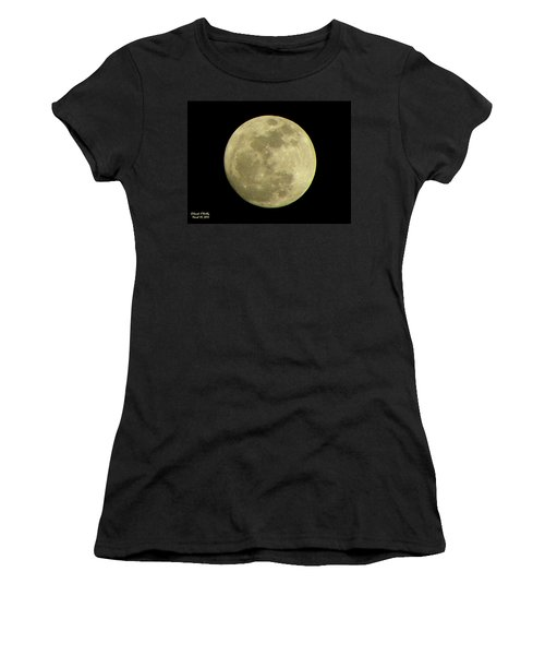 Super Moon March 19 2011 Women's T-Shirt (Athletic Fit)