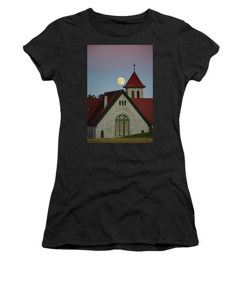 Super Moon Rising Women's T-Shirt