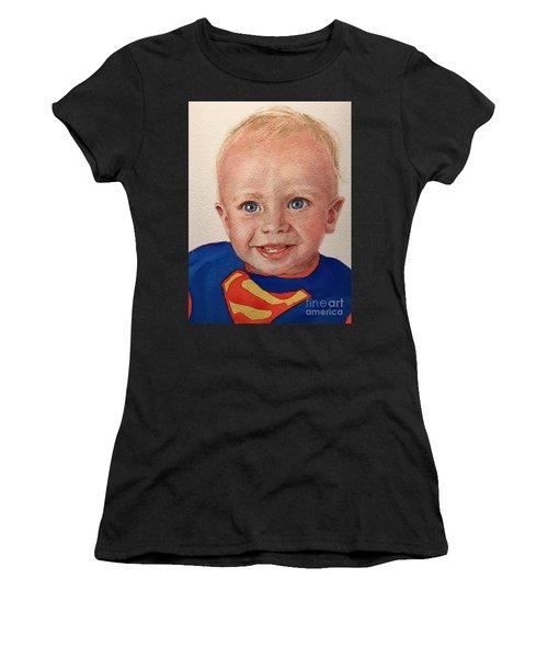 Superboy Women's T-Shirt (Athletic Fit)