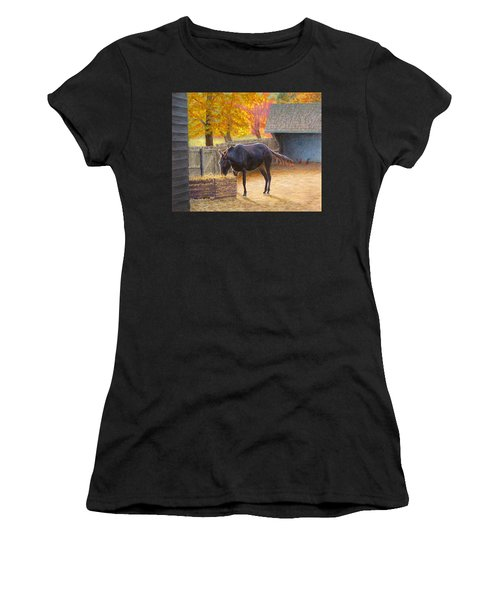Supper Time Women's T-Shirt (Athletic Fit)