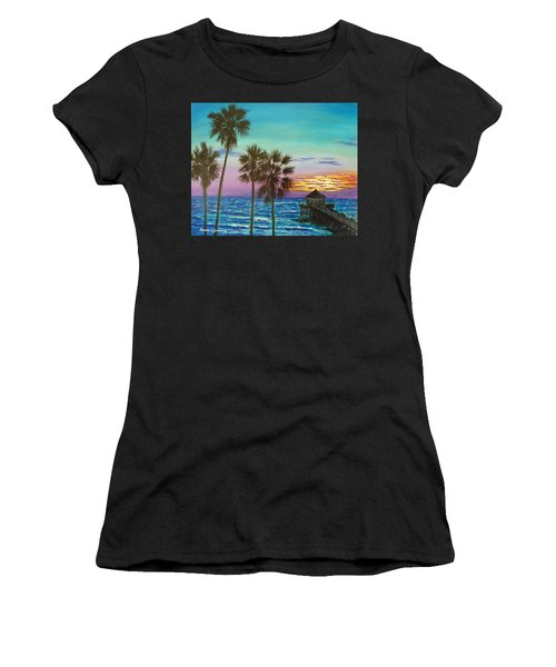 Surf City Sunset Women's T-Shirt