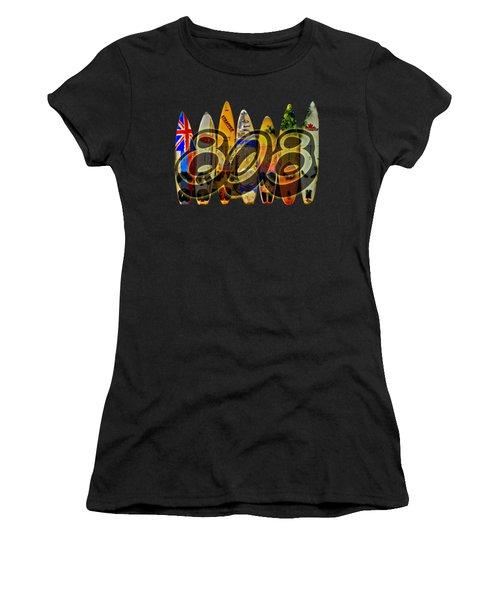 Surfin' 808 Women's T-Shirt