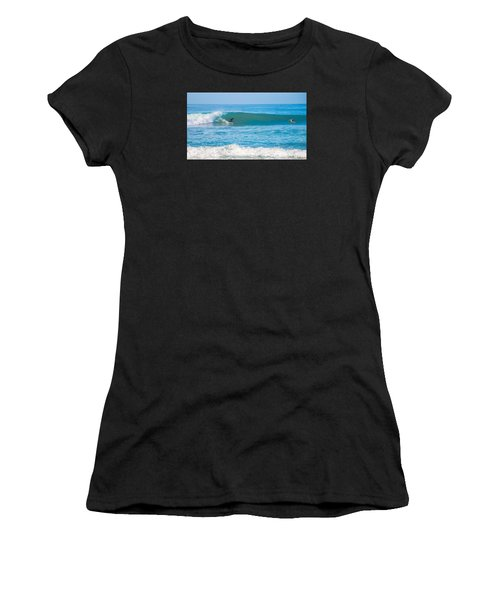 Surfing Women's T-Shirt (Athletic Fit)