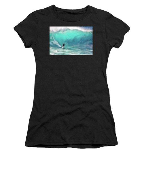 Surfing Women's T-Shirt