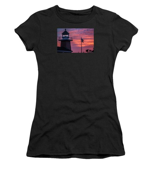 Surfing Museum Full Color  Women's T-Shirt (Athletic Fit)