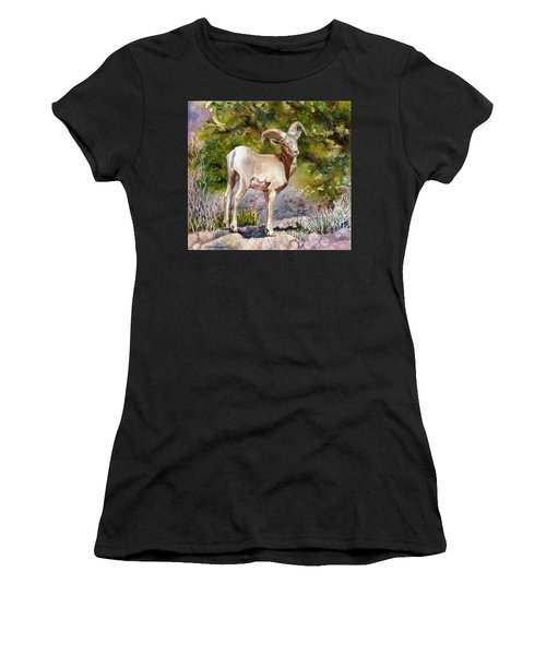 Surprised On The Trail Women's T-Shirt (Athletic Fit)