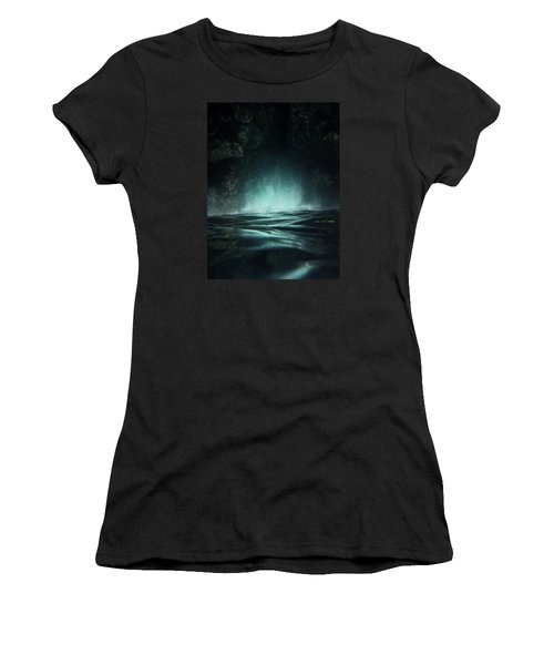 Surreal Sea Women's T-Shirt (Athletic Fit)