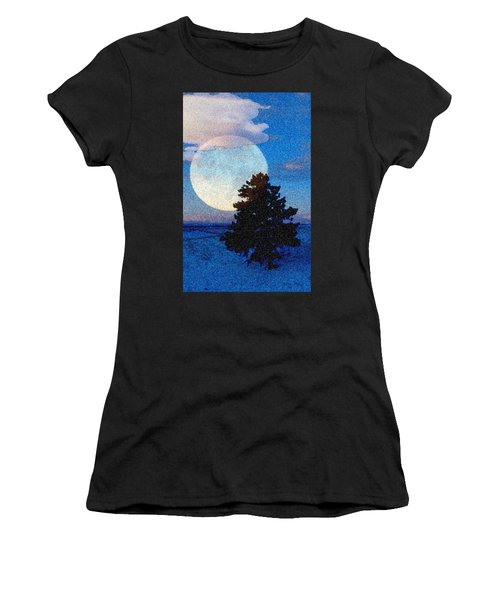 Surreal Winter Women's T-Shirt (Athletic Fit)