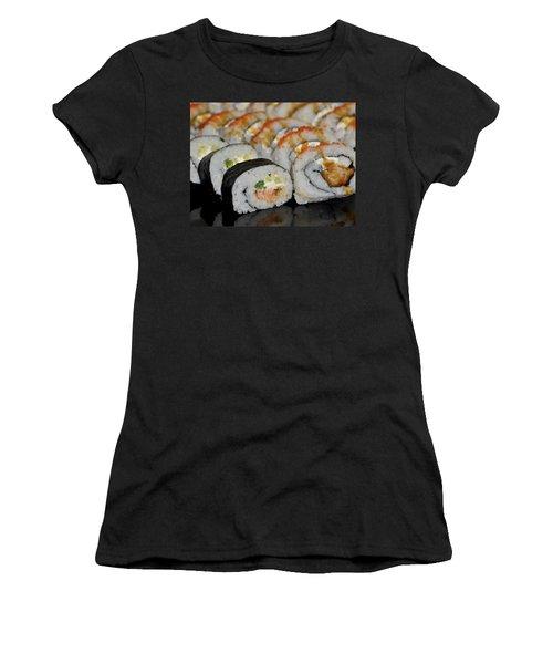 Sushi Rolls From Home Women's T-Shirt