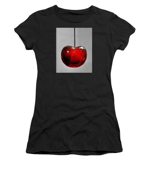 Suspended Cherry Women's T-Shirt (Athletic Fit)