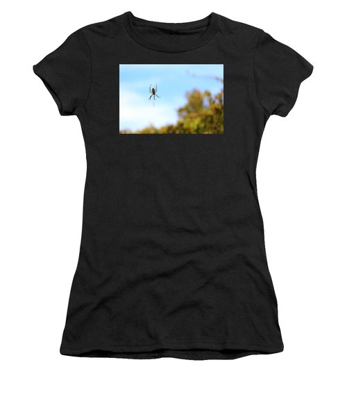 Suspended Spider Women's T-Shirt