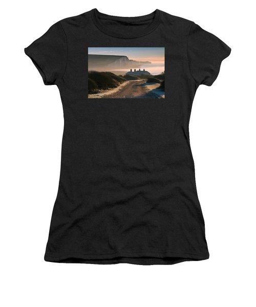 Sussex Coast Guard Cottages Women's T-Shirt