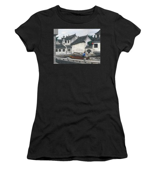 Suzhou Boatman Women's T-Shirt