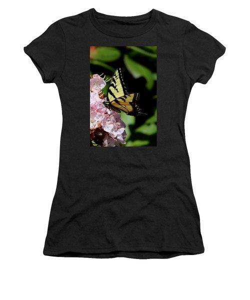 Swallow Tail On Mountain Laurel Women's T-Shirt