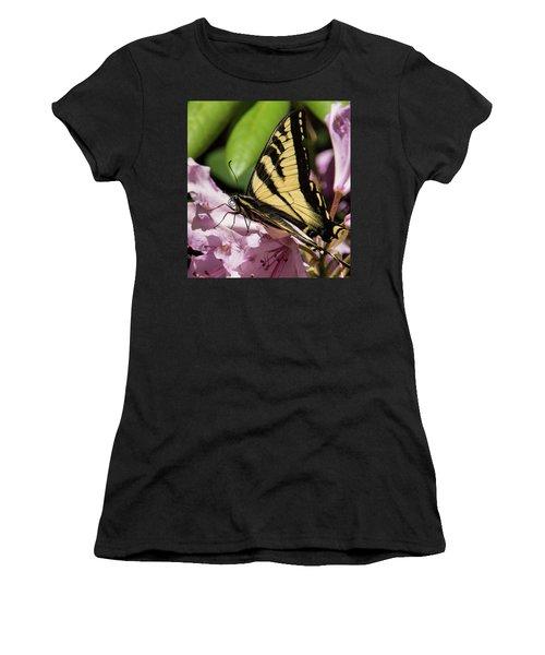 Swallowtail Butterfly Women's T-Shirt (Junior Cut) by Marilyn Wilson