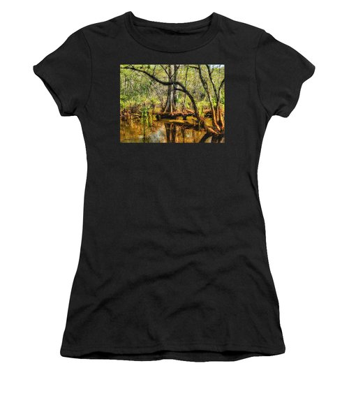 Swamp Life II Women's T-Shirt (Athletic Fit)