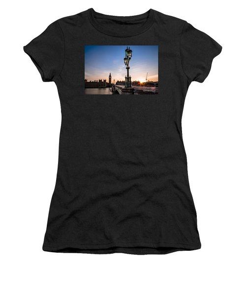 Swapping Lights Women's T-Shirt (Junior Cut) by Giuseppe Torre