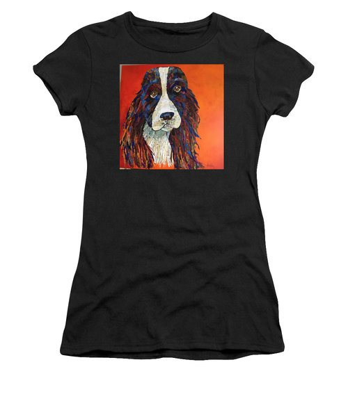 Sweet And Salty Springer Women's T-Shirt (Athletic Fit)