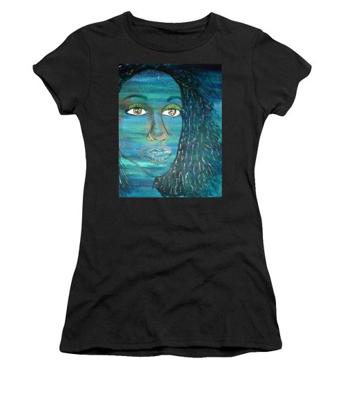 Sweet Blues Women's T-Shirt (Athletic Fit)