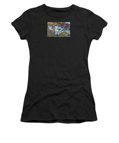 Sweet Dreams Women's T-Shirt (Junior Cut) by Claudia Cole Meek