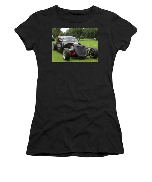 Women's T-Shirt (Athletic Fit) featuring the photograph Sweet Hot Rod by Aaron Martens