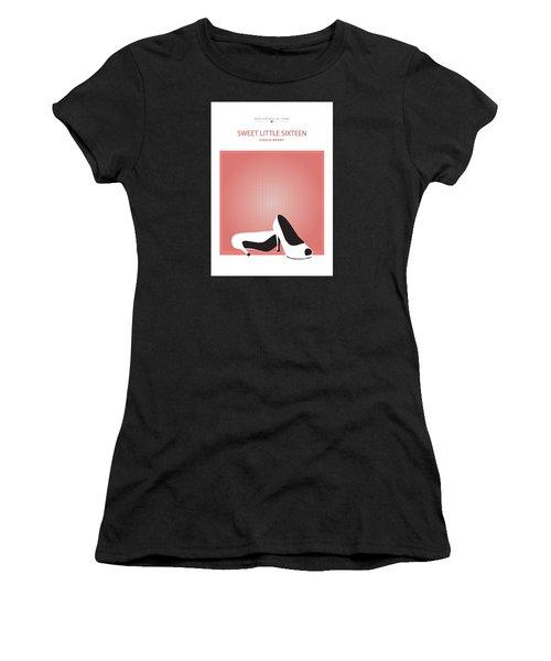 Sweet Little Sixteen -- Chuck Berry Women's T-Shirt (Junior Cut) by David Davies