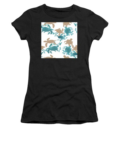Swimming Turtles Women's T-Shirt