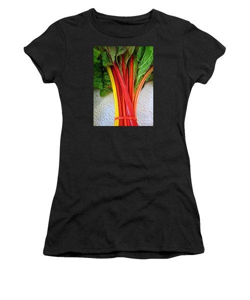 Swiss Chard Women's T-Shirt (Athletic Fit)