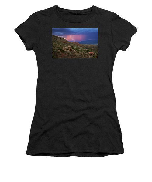 Sycamore Canyon Lightning With Little Daisy Women's T-Shirt