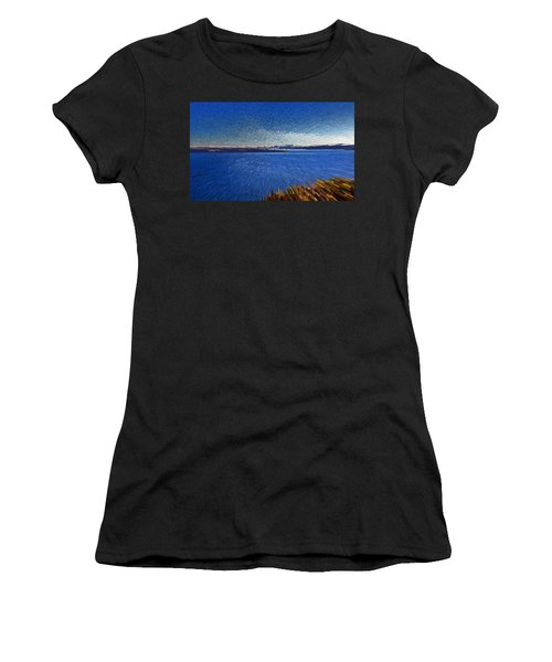 Sydney From North Head Women's T-Shirt (Athletic Fit)
